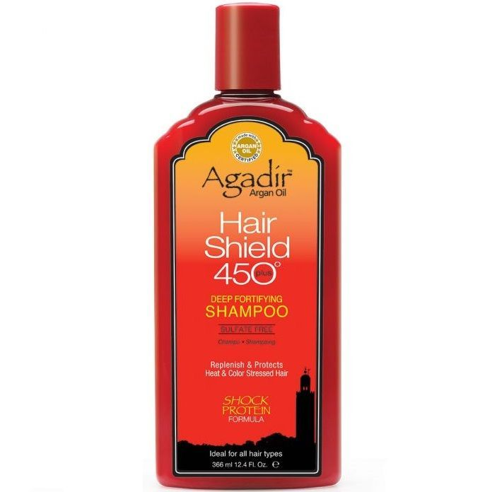 Agadir Argan Oil Hair Shield 450 Plus Deep Fortifying Shampoo 12.4 oz  $10.50 Visit www.BarberSalon.com One stop shopping for Professional Barber Supplies, Salon Supplies, Hair