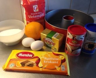 Sockerkaka Med Apelsin Och Choklad Recept - myTaste.se