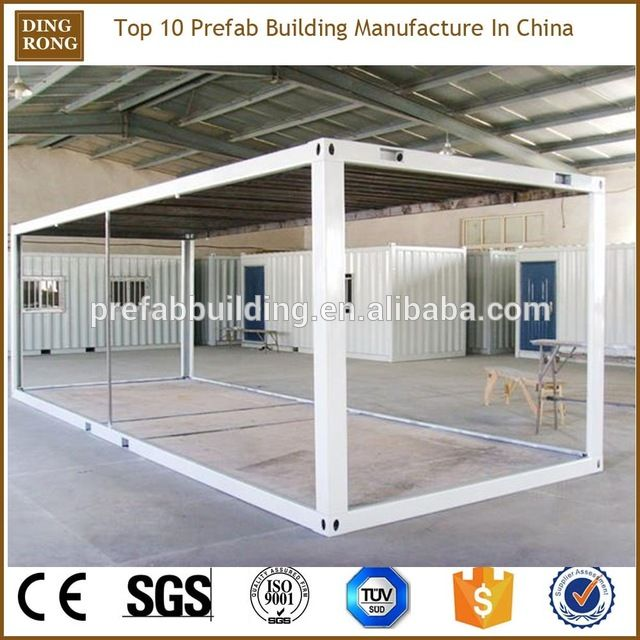 Source Prefabricated Modular 20ft Shipping Iso Container Frames On M Alibaba Co Prefab Shipping Container Homes Container House Plans Building A Container Home