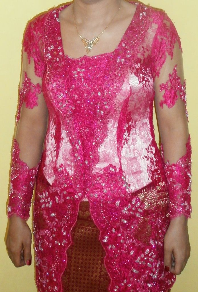its bold pink