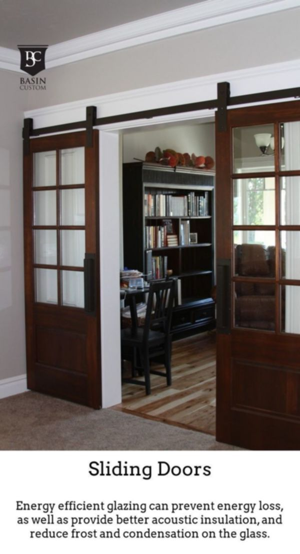 Sliding Doors Create High End Radiant Spaces Thanks To Thermally Insulated Gliding And Folding Doors French Doors Interior Interior Barn Door Hardware Home