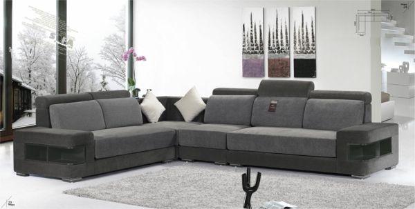 White Leather Sofa Buy Online En 2020 Con Imagenes Living