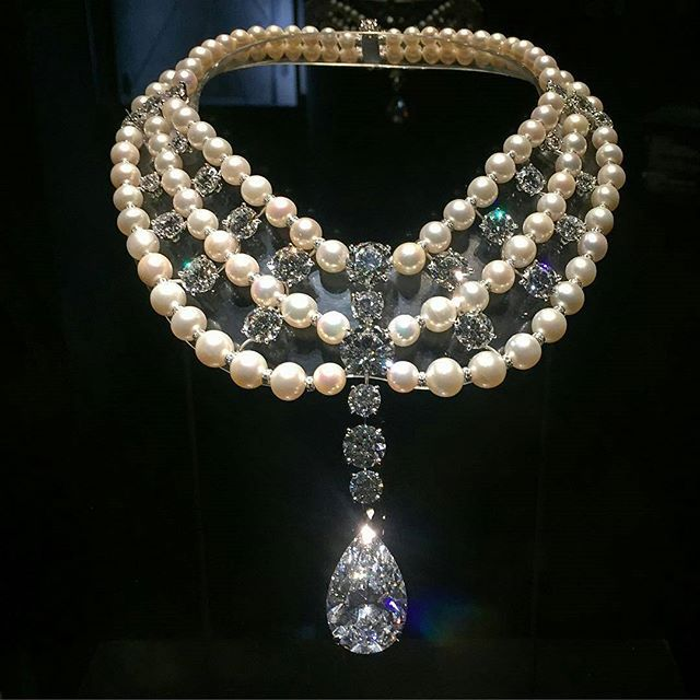 Diamonds and pearls what more could a girl want/need