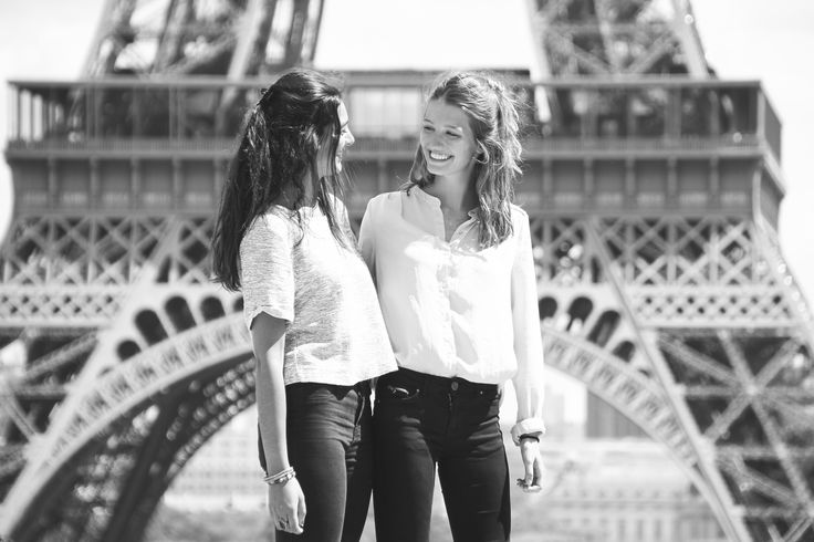 BFF at the Eiffel Tower - WESHOOT Paris Photo Session