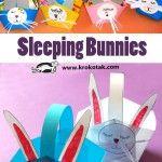 Baskets Sleeping Bunnies