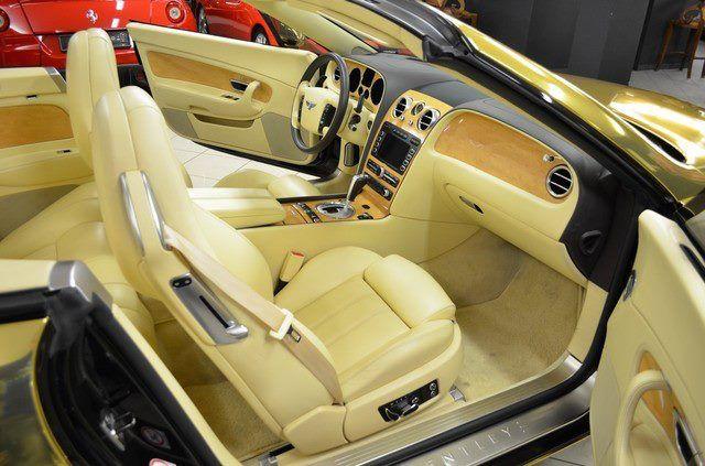 GOLD Bentley Continental GTC