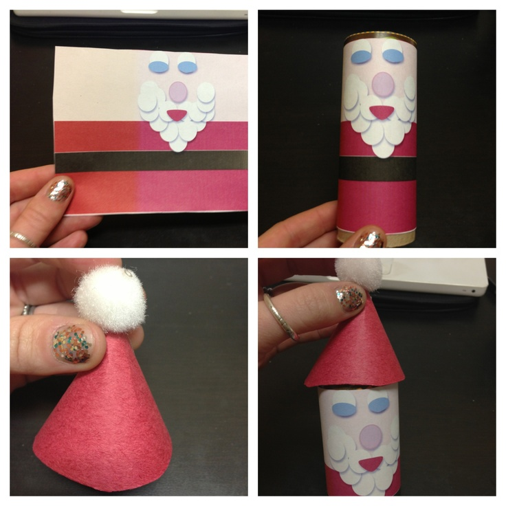 1000 ideas about christmas toilet paper on pinterest for Tissue tube crafts
