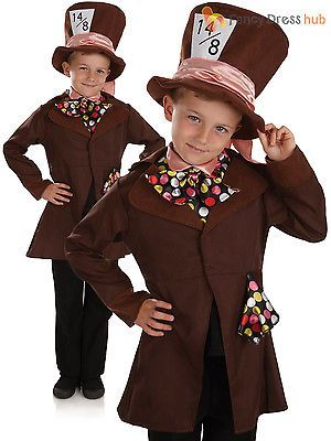 Boys little mad hatter #fancy #dress costume #childs wonderland book week outfit, View more on the LINK: http://www.zeppy.io/product/gb/2/181988173707/
