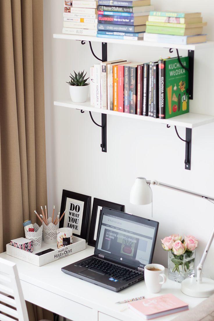 #office #work #space #blogging #homedecor