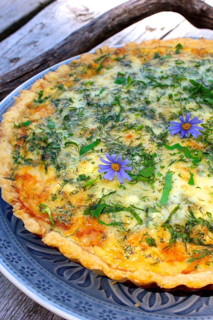 Ein köstliches Rezept für Quiche Lorraine von Cynthia Barcomi.