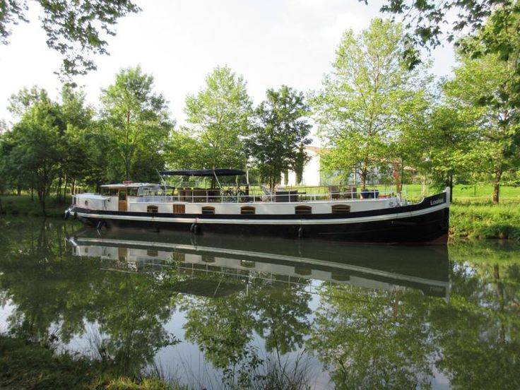 Stenson 79 DB for sale France, Stenson boats for sale, Stenson used boat sales, Stenson Barges For Sale 24m Beautiful Luxe Motor with TRIVW - Apollo Duck
