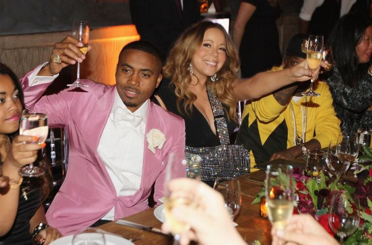 Nas And Mariah Carey | GRAMMY.comPhotos, Mariah Carey, Carey Toast, Nas Célébrés, De Nas, People