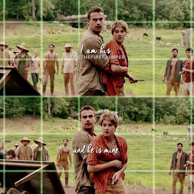 + It has been that way all along.  - {#Insurgent #Amity #FourTris}