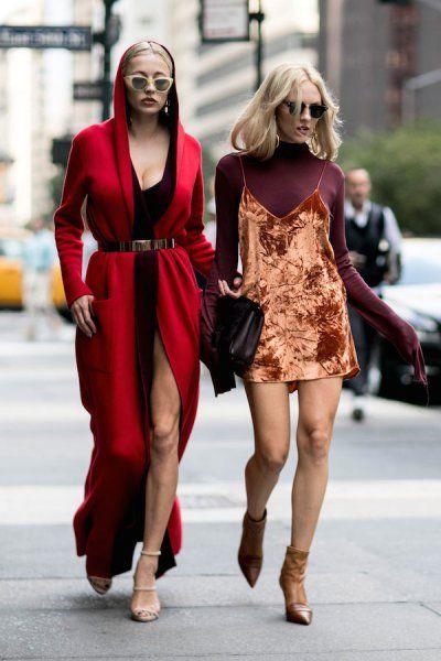 Moda uliczna New York Fashion Week wiosna-lato 2017 - 47