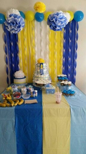 Bananas in pajamas Baby Shower by: Rose Cantu