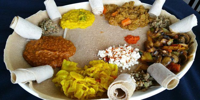 """ホノルルでエチオピア料理を堪能できるお店「エチオピアン・ラブ」""""Ethiopian eatery, Ethiopian Love opened in Chinatown""""  #Hawaii #ハワイ #ethiopianLove  http://www.poohkohawaii.com/gourmet/ethiopian_love.html   ハワイ最新情報満載!プーコのハワイサイト"""