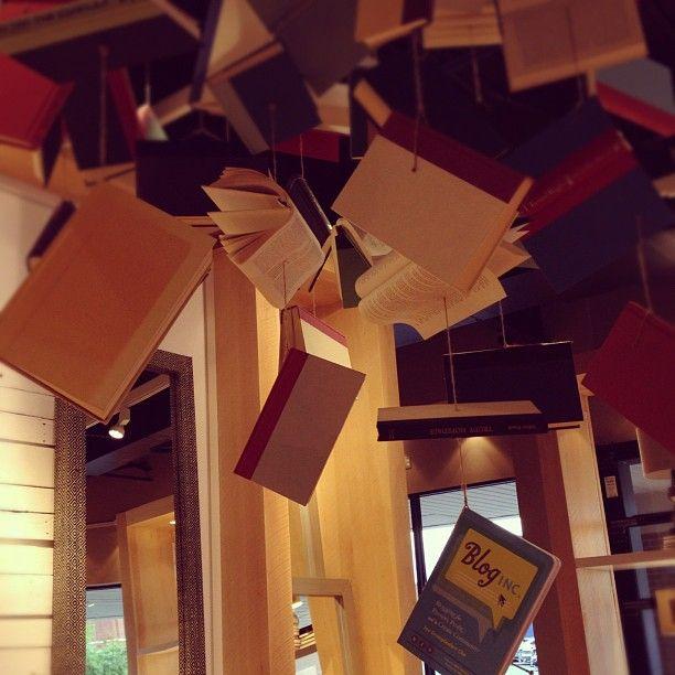 Love the book display @elise West elm created for @Jò in Wonderland Cho / Oh Joy! Blog Inc. book signing! #BlogInc