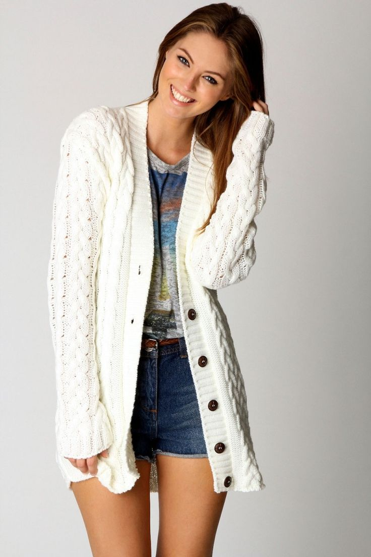 20 best Awesome Long Cardigan Sweaters Outfit images on Pinterest ...