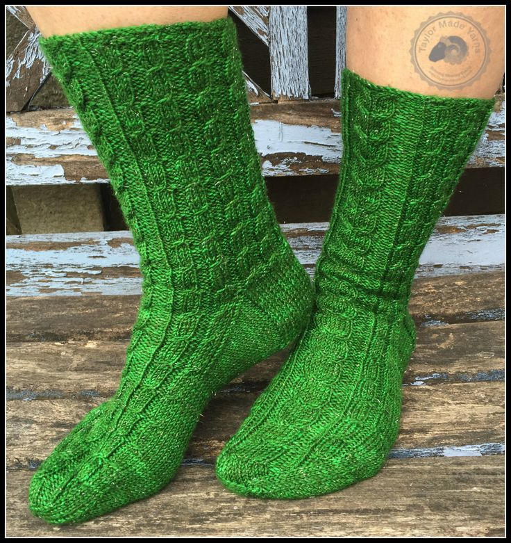 For The Love Of Cabled Socks  KNITTING PATTERN by Sharon Taylor (Taylor Made Yarns) by TaylorMadeYarns on Etsy