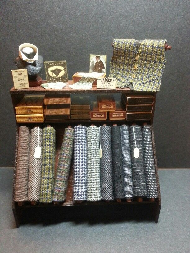 Image - haberdashery - For the well dressed man © A & R Miniatures
