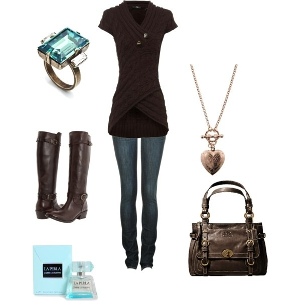Brown is beautiful :) love everything about this outfit