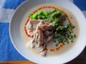 冷製ピリ辛豆乳うどん|レシピブログ