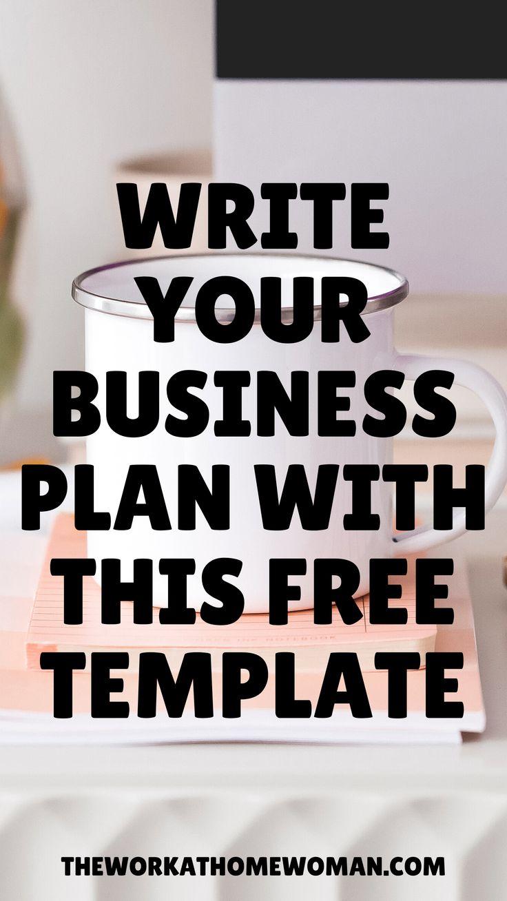 How to Write a Business Plan StepByStep [Free Business