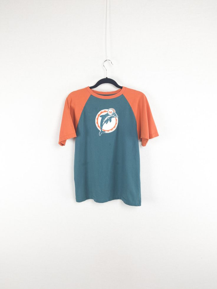 Miami Dolphins Color Block 90's T-Shirt by Reebok