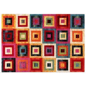 GIOIA A della linea VIVA è un tappeto moderno da 230x160 cm, tessuto con telaio meccanico, con vello morbido in polipropilene frisee. Pennellate, contrasti forti, e colori di tendenza si unisco per creare un tappeto dal design moderno ed unico.