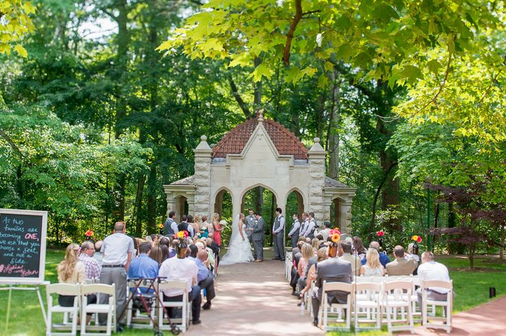 Rosewell House Wedding Ceremony Photography On Indiana University Campus In Bloomington By Tall