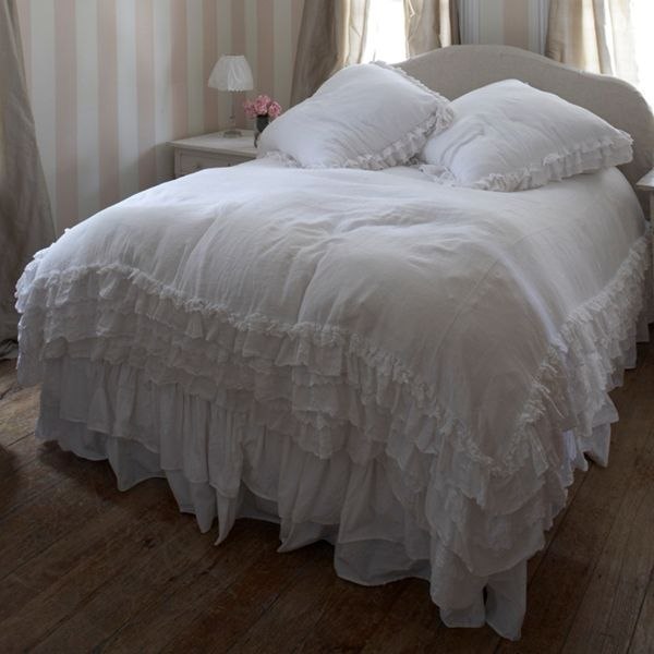 petticoat white bedding collection at rachel ashwell shabby chic couture