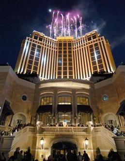 our favorite hotel to stay at in Las Vegas - Palazzo
