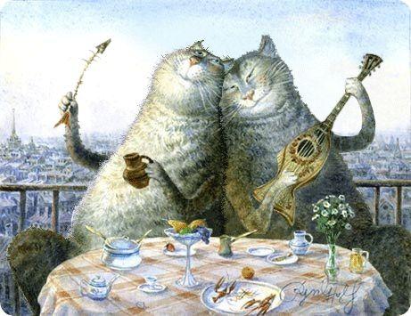 chats chantants
