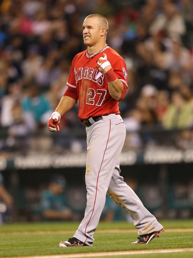Mike Trout...Former Trav!