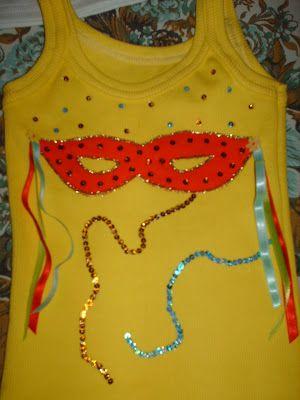 BETH ARTESANATOS: Blusas de Carnaval adulto