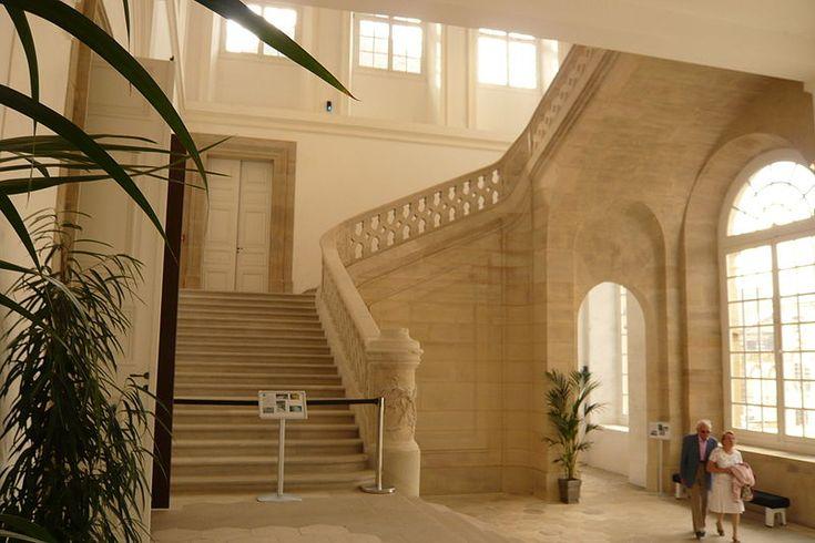 Staircase Château de Lunéville, Lunéville, France