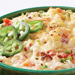 Tasty }- Slow Cooker Jalapeno Popper Crab Dip     -    Dips made in the slow cooker are such a time saver. Plus Jalapeno Popper-Crab Dip can be served directly from the slow cooker, so it stays warm.