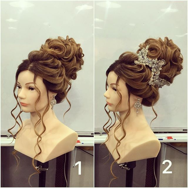 rayganat_magomedmansurova: one of my favorite hairstyles  and which version do…