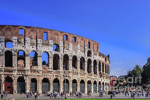 Rome, Italy - The Colosseum by Devasahayam Chandra Dhas