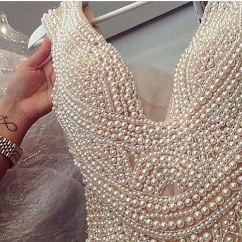 Wedding Dresses Pearls 117
