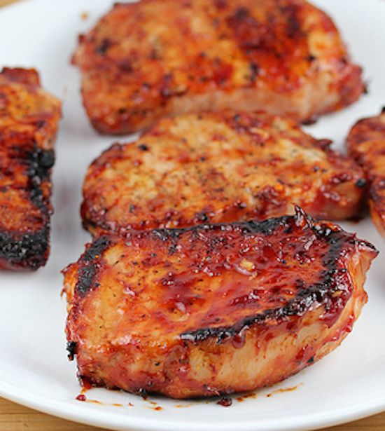 Honey Garlic Pork Chops Recipe - made this tonight, it was SO good. This is definitely a keeper.