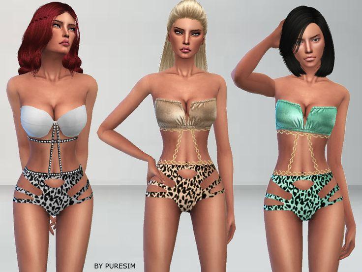 Puresim's Metallic Swimsuit