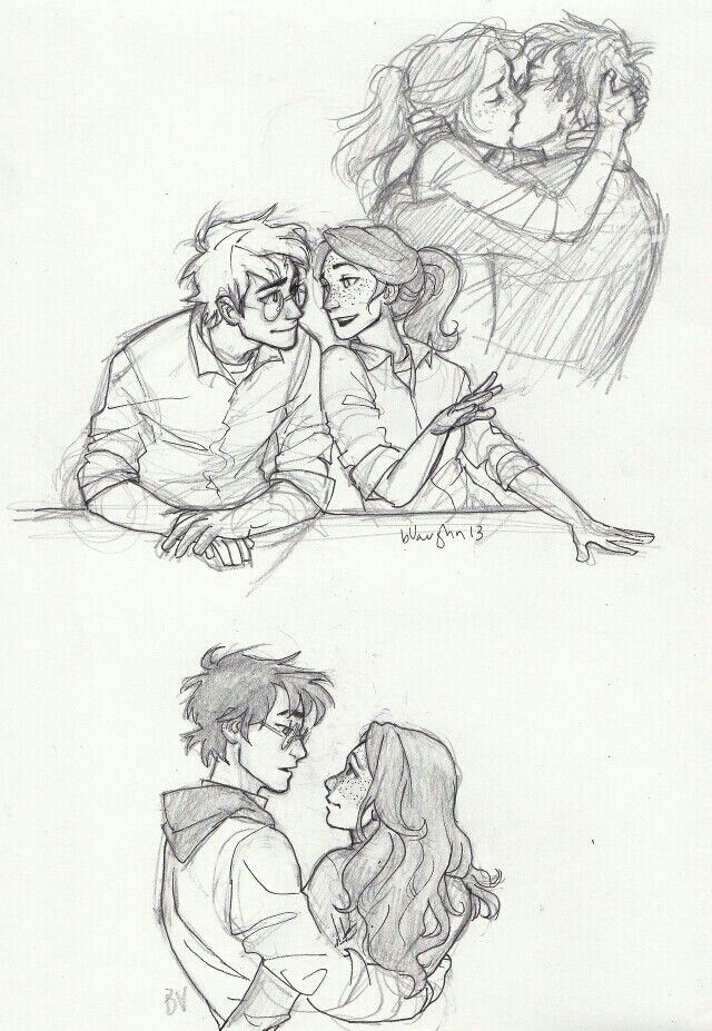 Harry and Ginny Fan Art