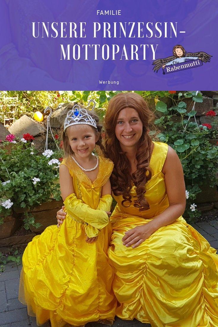 524f2745578962 Wir feiern eine Prinzessinnen-Mottoparty mit echter Belle