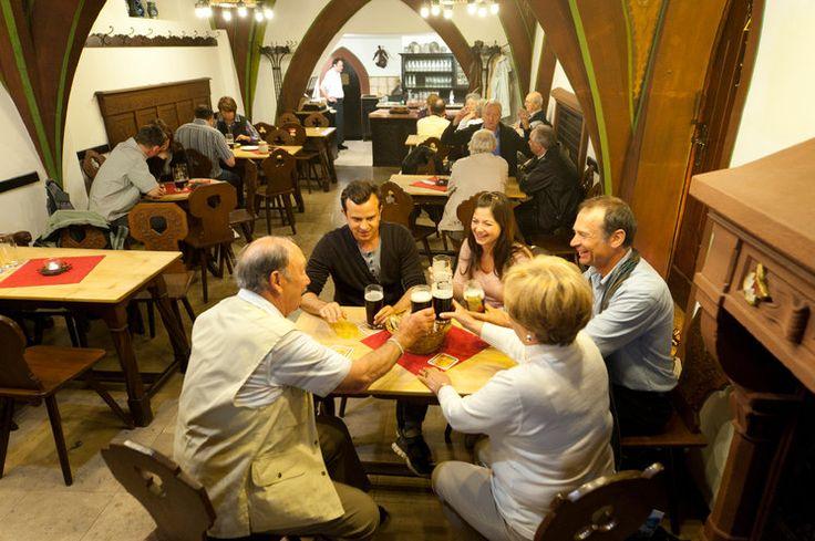 Blick von Schloß Geyerswörth auf die Bamberger Bergstadt  |  Bildquelle: BAMBERG Tourismus & Kongress Service