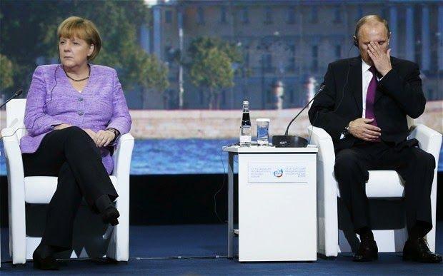 """Η Μέρκελ βάζει στον """"πάγο"""" τον Πούτιν ~ Geopolitics & Daily News"""