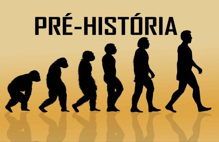 Pré-História. Criacionismo, Evolucionismo, Neolítico, Paleolítico, Australopitecos, Homo Habilis, Homo Erectus, Homo Sapiens, Idade dos Metais e desenvolvimento da escrita. Artes Pré-históricas. Vídeo aula. Teoria do Big bang, Dinossauros.