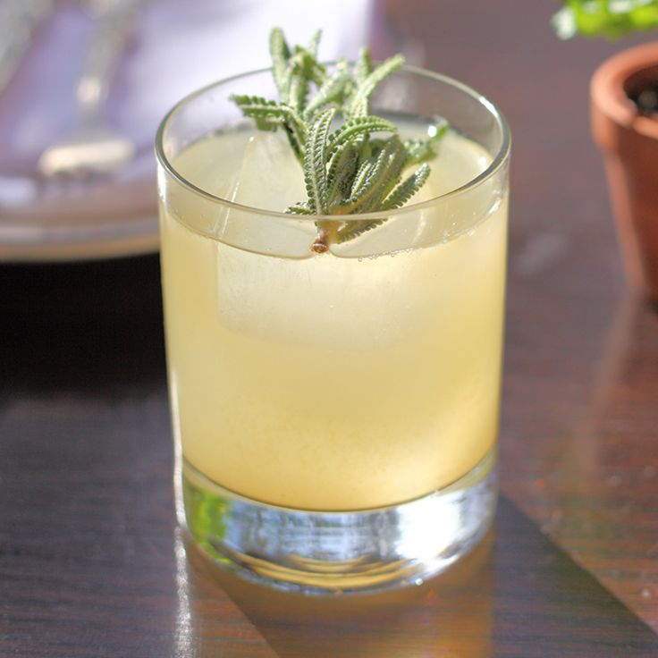 Coal Miner's Daughter      1.5 oz Bourbon     1 tsp Ginger syrup     .75 oz Lemon juice     .75 oz Honey     1 sprig Lavender  Garnish: Lavender sprig