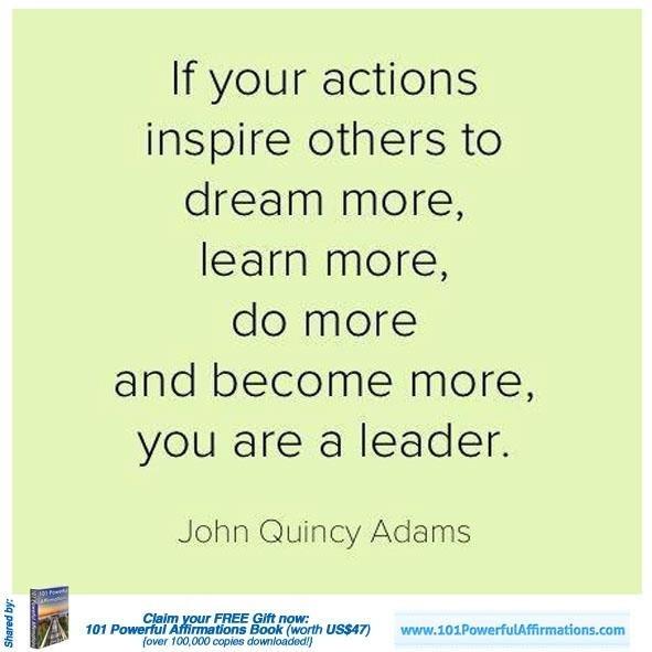 Leadership #rfdreamboard #calsae #bealeader #betterleadership #leadbyexample #selfimprovement