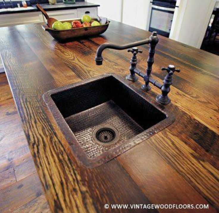Rustic love - yes please. I'll take this any day over marble